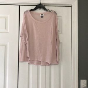 Pale pink t-shirt